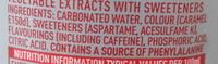 Diet Coke - Ingredients