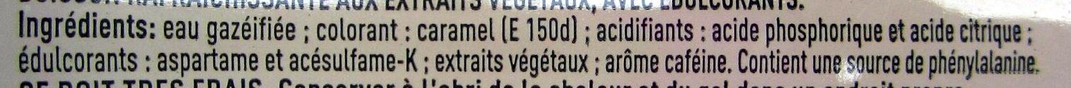 Coca-Cola light - Ingredienti - fr