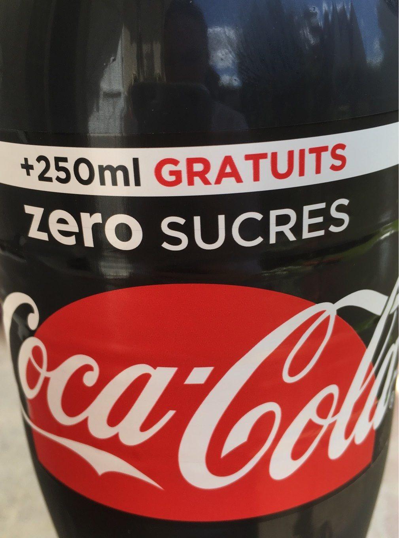 Coca-Cola zéro sucres - Produit - fr