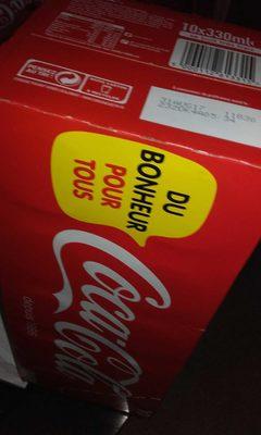 Coca canette x10 - Producto