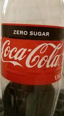 Bouteille coca zéro - Produkt - fr