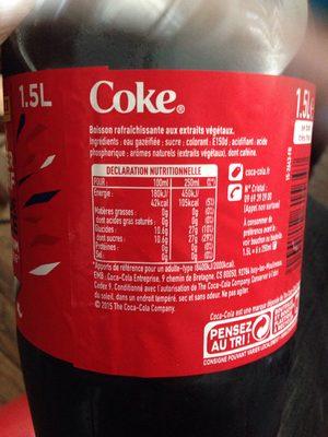 Boisson gazeuse - Coca cola - 4