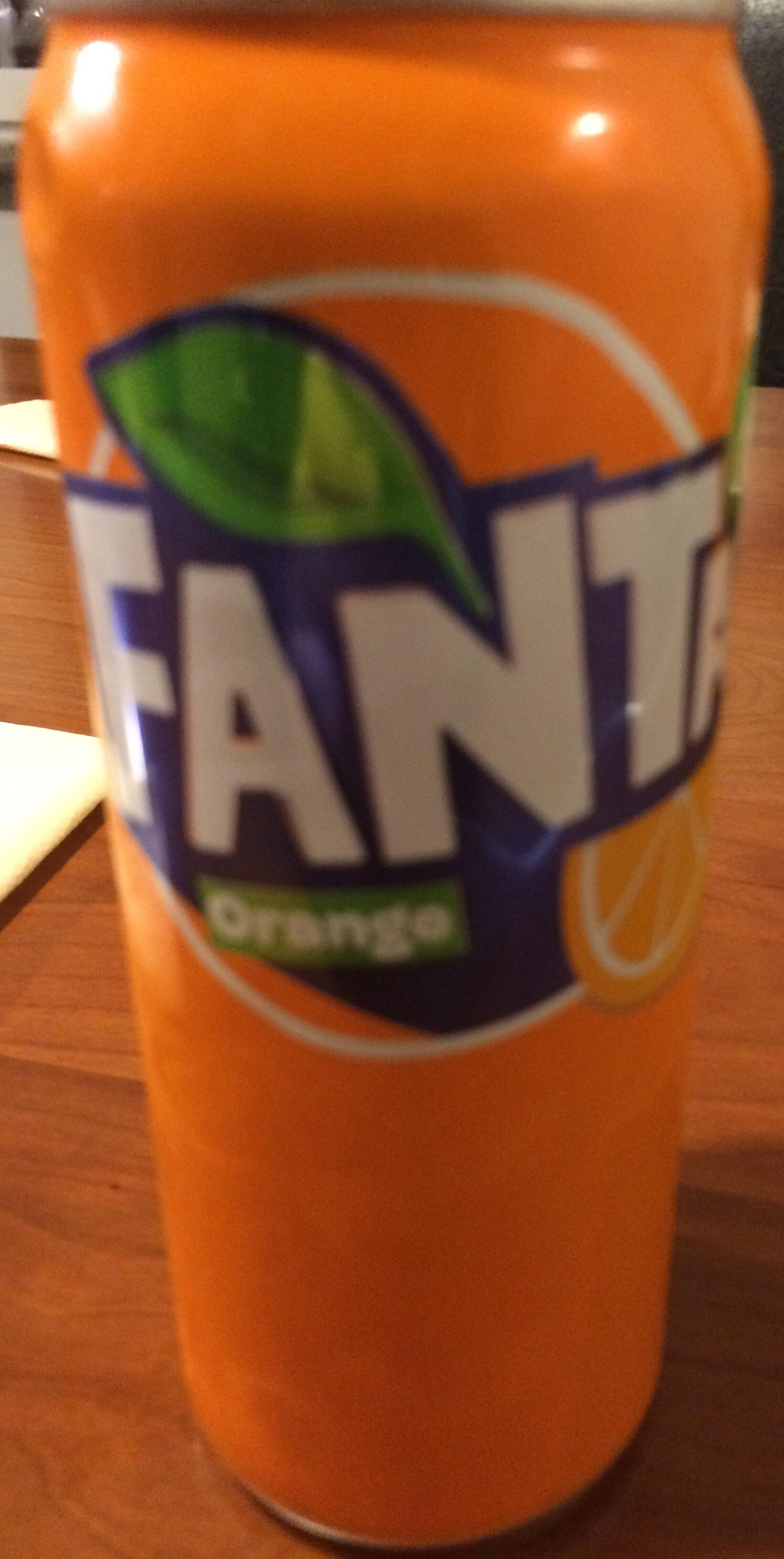 Fanta Orange - Product - sv