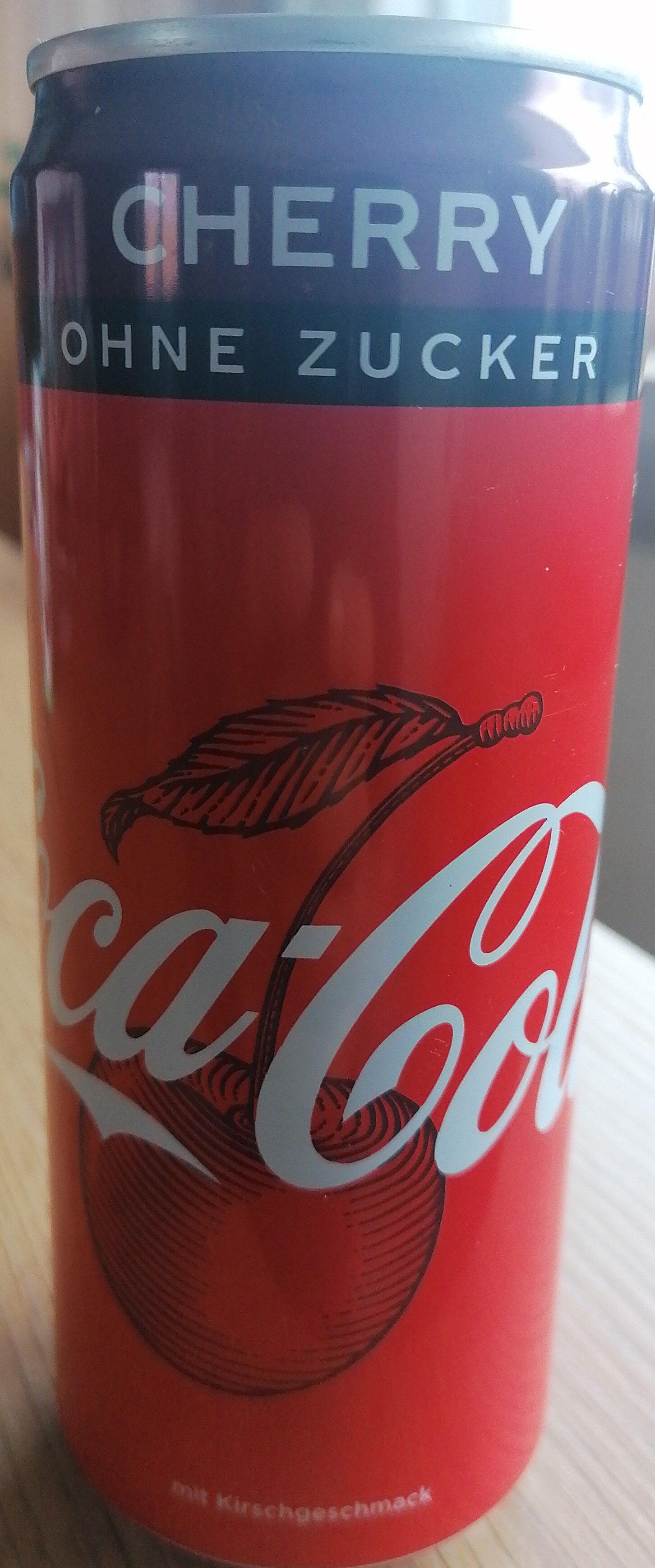 Cola Cherry Zero - Prodotto - de