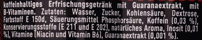 Energy - Ingredients - de