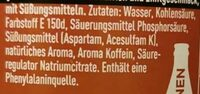 Zimt ohne Zucker (Limited Edition) - Ingredients