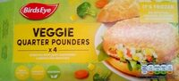 Veggie quarter pounders - Product - en