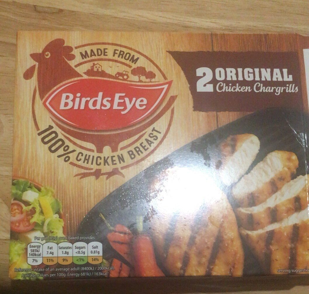 Original chicken chargrill - Product - en