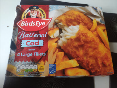 Battered Cod Large Fillets - Product