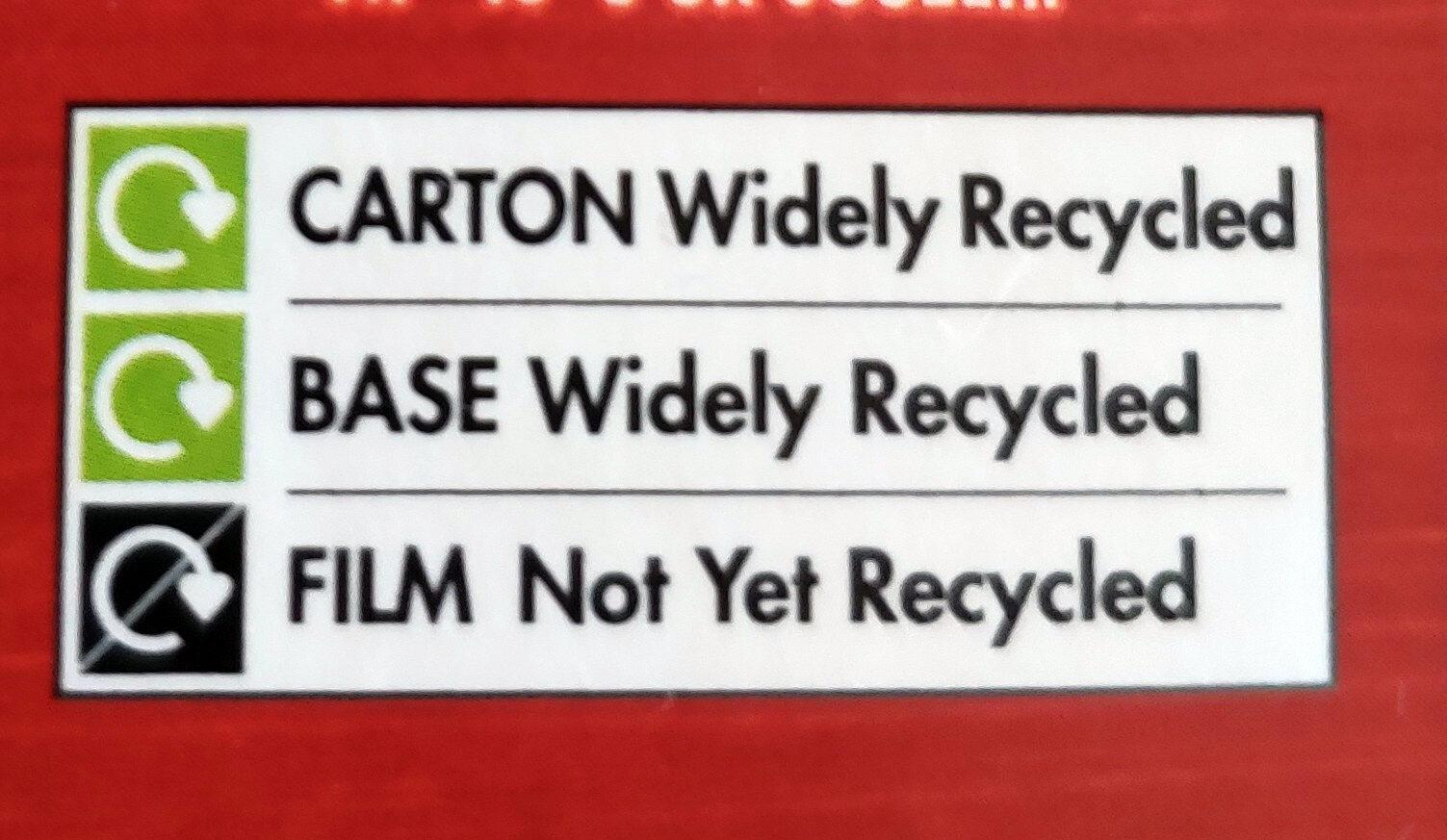 Pizza Pockets Triple Cheese - Instruction de recyclage et/ou information d'emballage - en