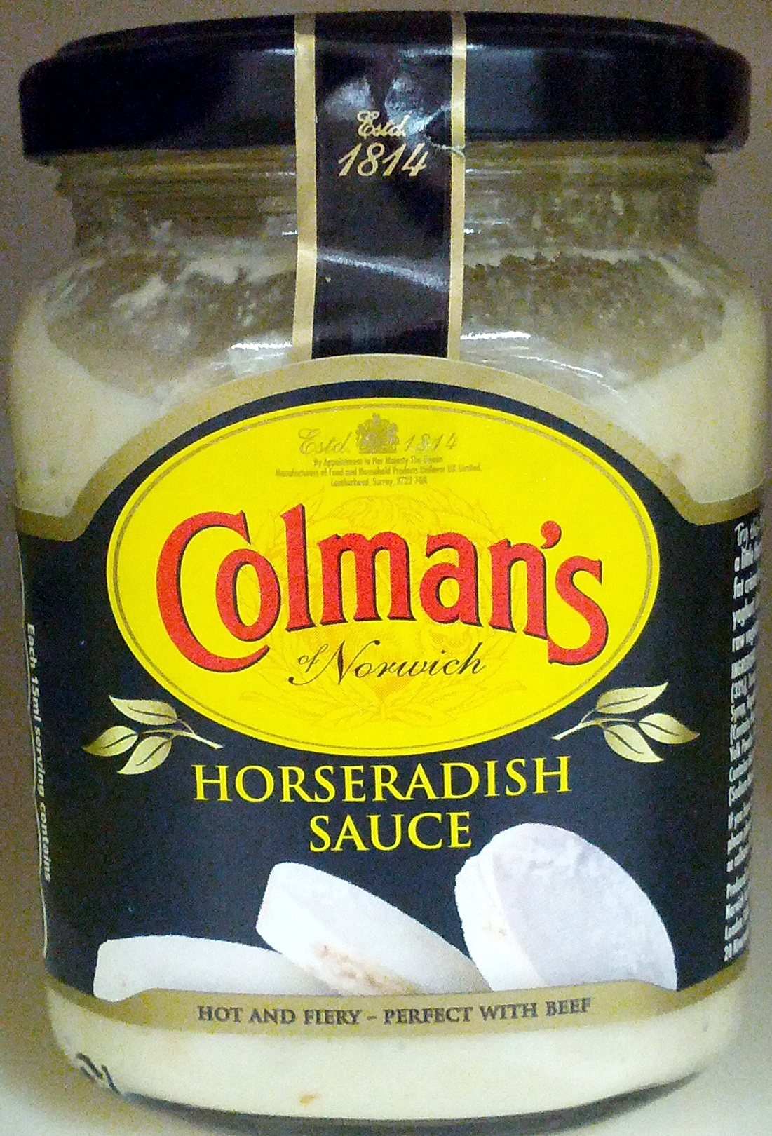 Horseradish Sauce - Product