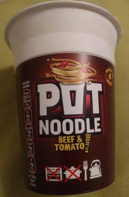 Pot Noodle Beef And Tomato - Produit