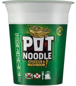 Chicken And Mushroom Instant Noodles - Product