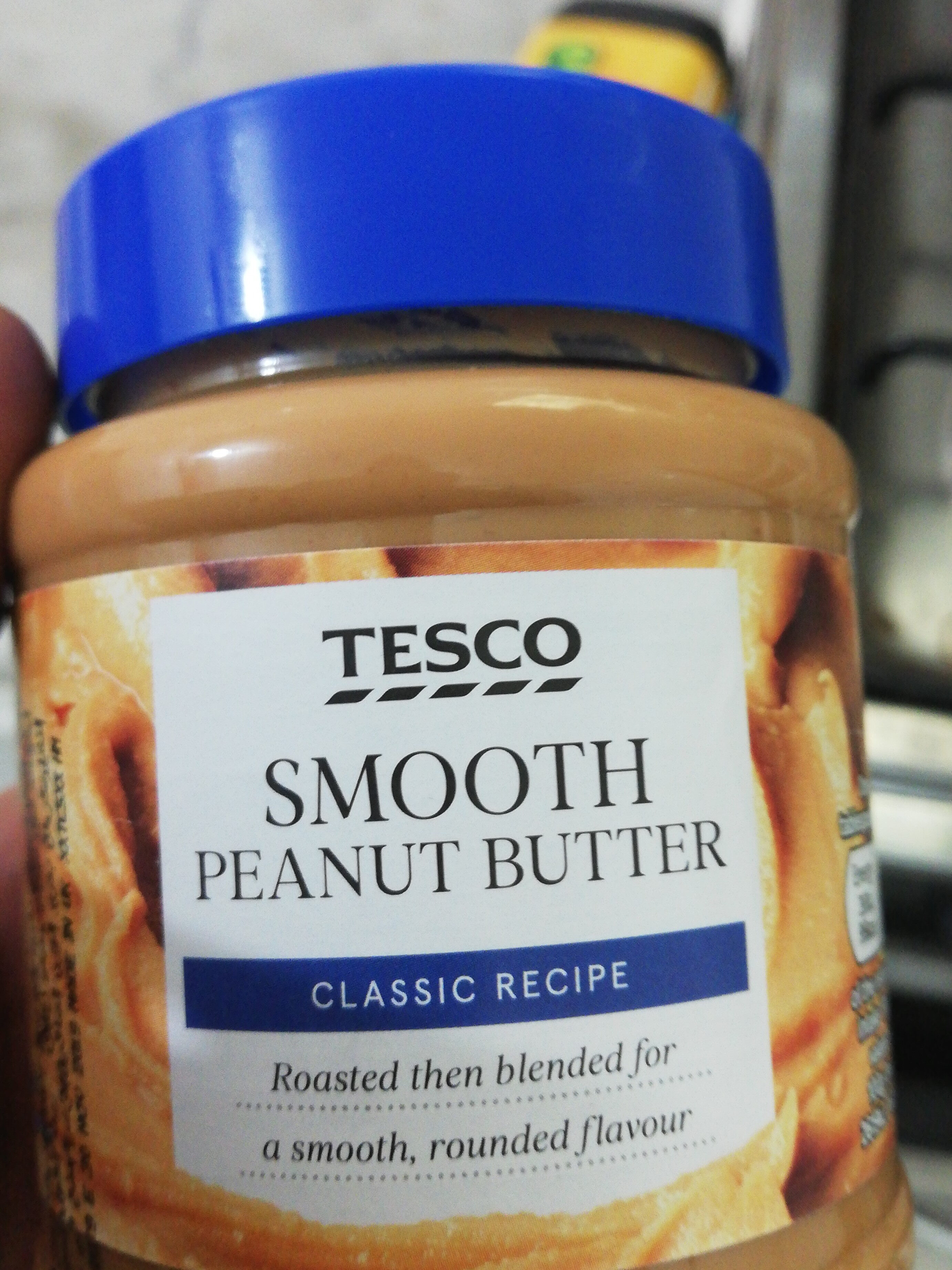 Tesco Smooth Peanut Butter 340G - Product