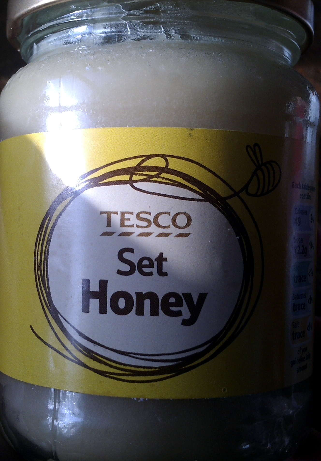 Tesco Set Honey - Product