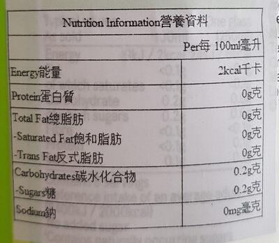 TESCO Cloudy Lemonade - Voedingswaarden - en