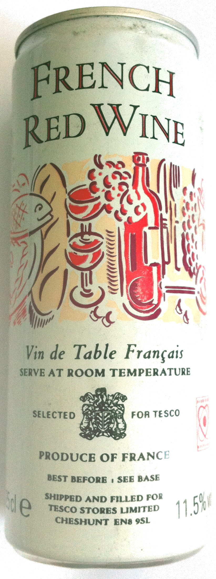 French Red Wine - Product