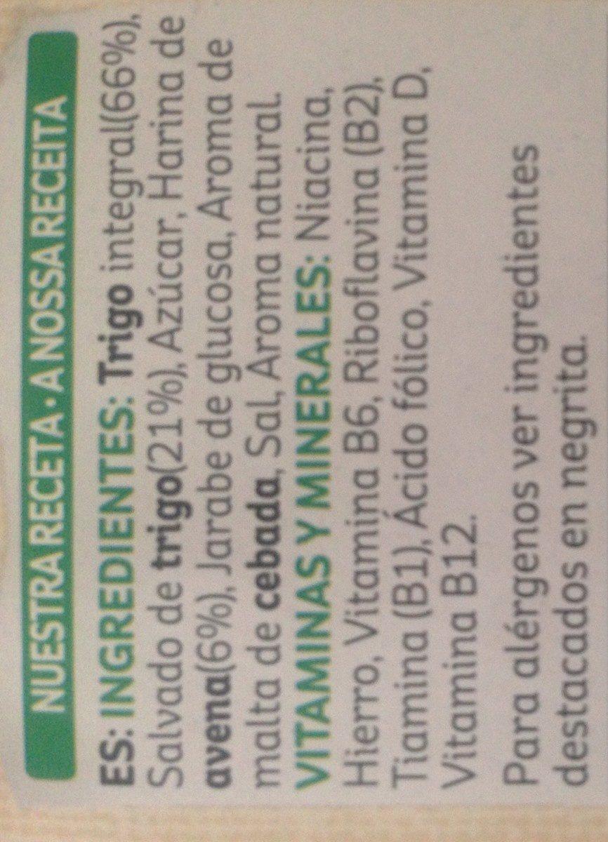 Cereal Kellogg's Bran Flakes 375GR - Ingredientes