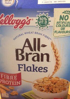 All bran flakes - Product - en