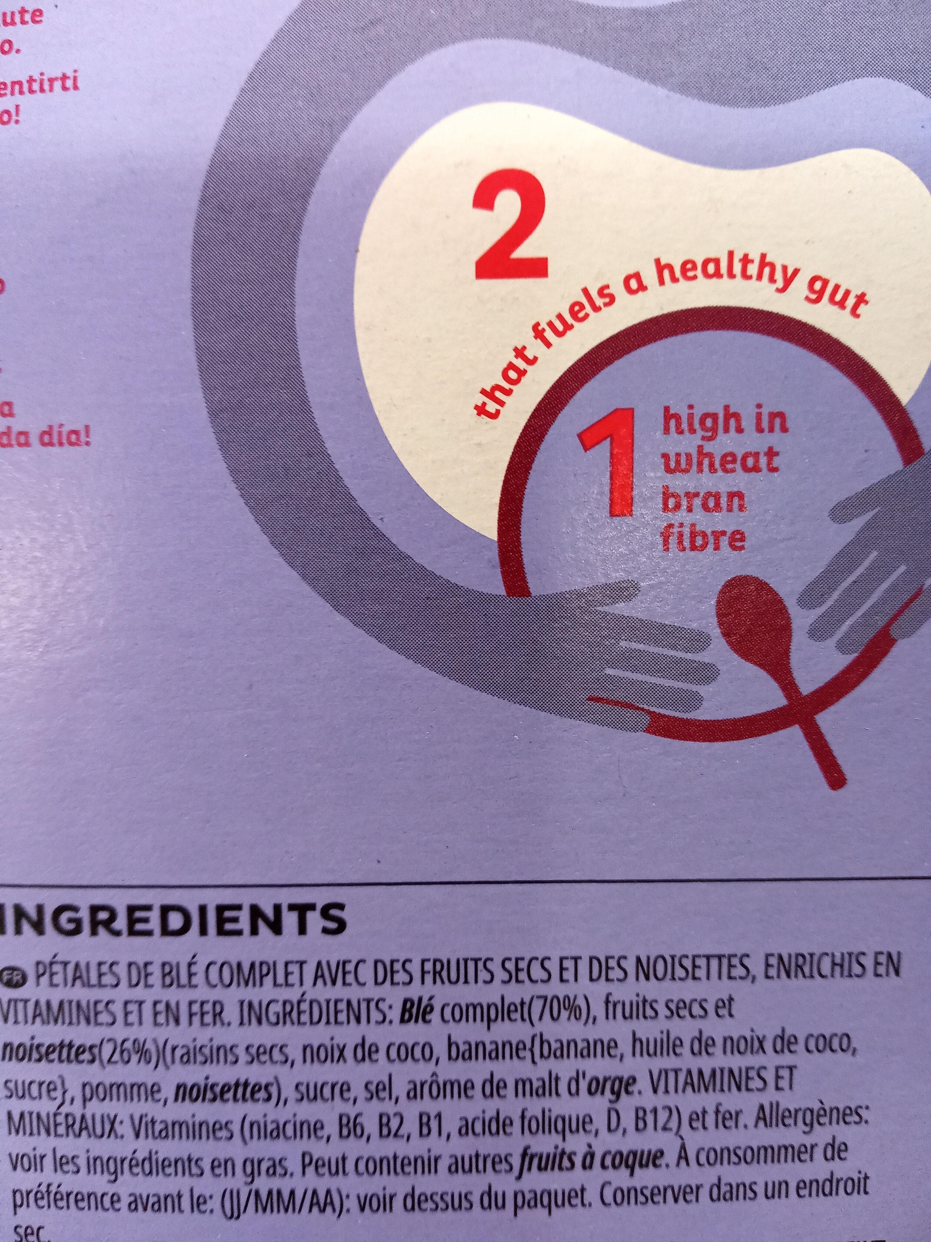 All-Bran Fruit'n Fibre - Ingredients - fr