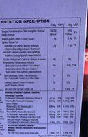 All-Bran Fruit'n Fibre - Nutrition facts - fr