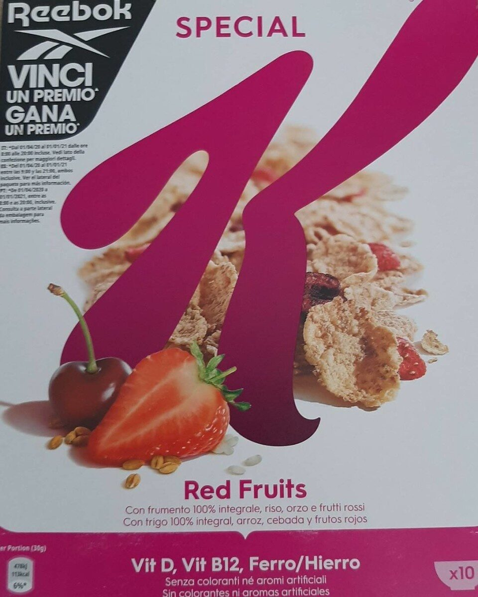 Special Kellogg's red fruits - Produto - it