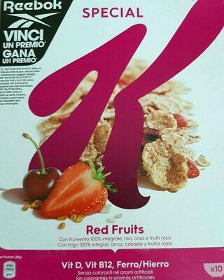 Special Kellogg's red fruits - Produto
