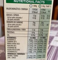 Special Kellogg's red fruits - Nutrition facts - it
