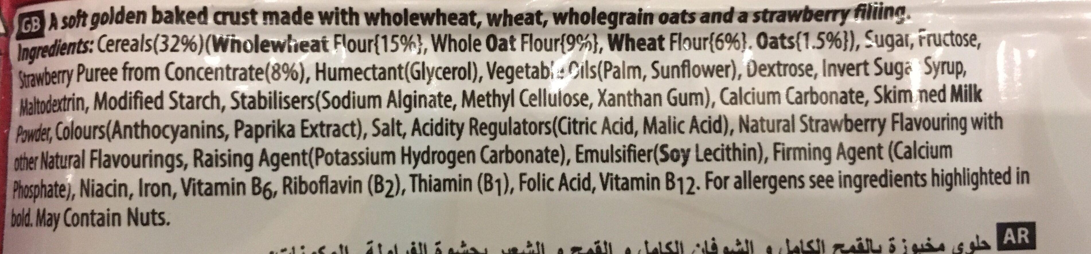 Nutri-grain Strwberry37g - Product - fr