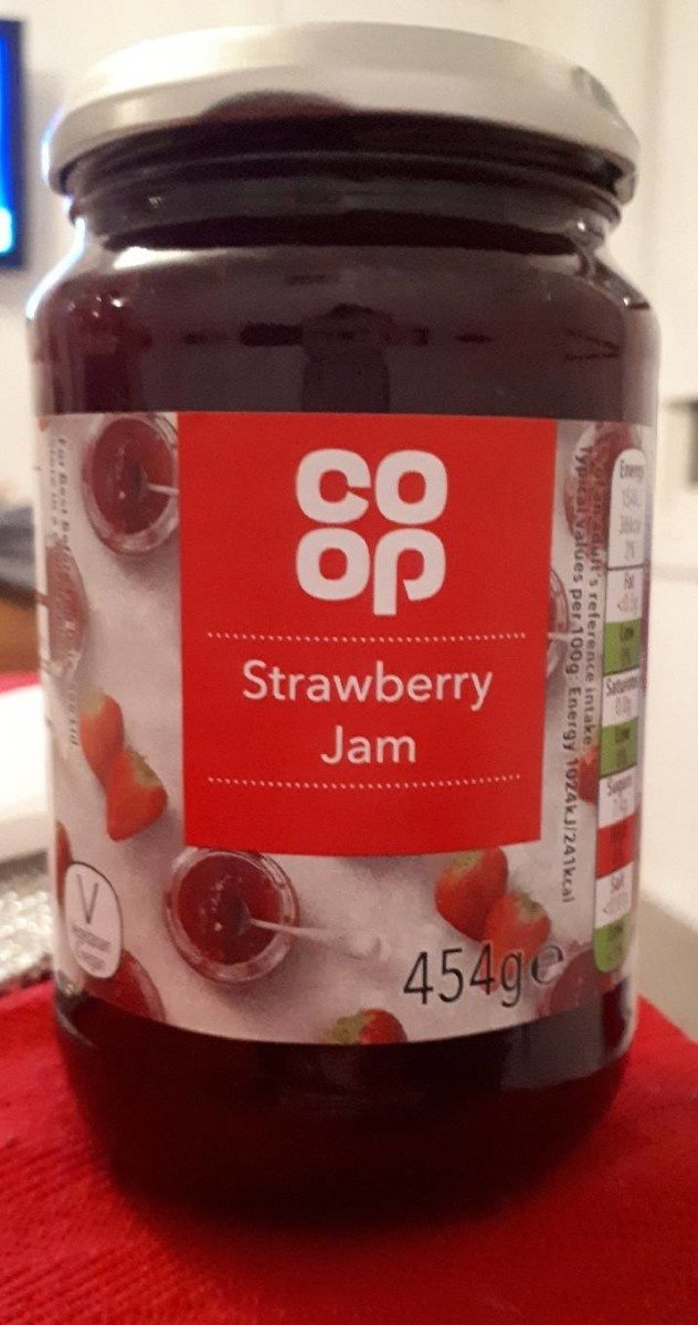 Strawberry jam - Produit - fr