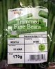 trimmed fine beans - Product