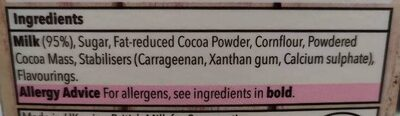 Coop Chocolate Milk - Ingredients