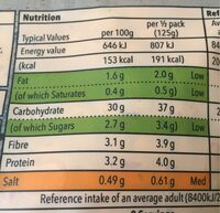 Co Op Mexican Inspired Rice - Informations nutritionnelles - fr