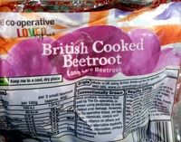 British cooked beetroot - Prodotto - en