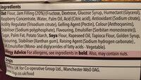 co-op jammie biscs - Ingredients