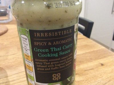 Green Thai Curry Cooking Sauce - Product - en