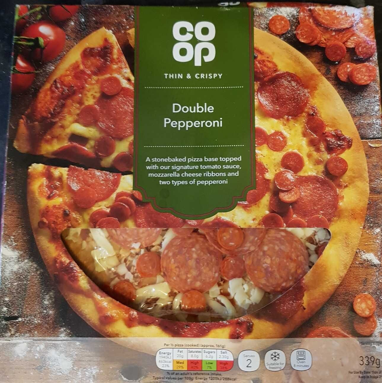 Double Pepperoni Coop