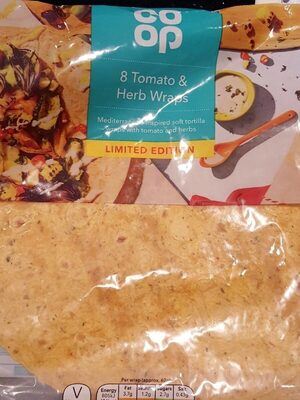 Tomato and herb wraps - Product - en