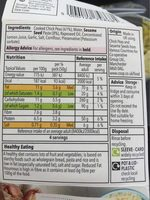 Houmous - Nutrition facts