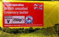 British Unsalted Creamery Butter - Product