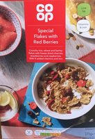 Special flakes with red berries - Product - en