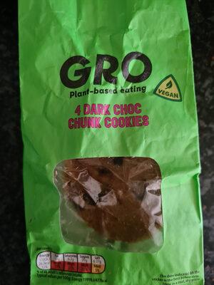 GRO Dark Choc Chunk Cookies - Product - en