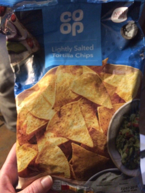 Lightly Salted Tortilla Chips - Produit - en