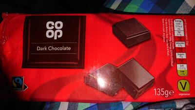 Co-op Dark Chocolate - Produit - en