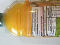 Orange & Pineapple Squash Double concentrate - Ingredients - fr