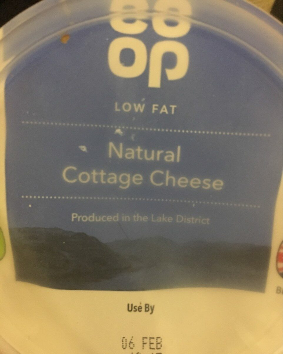 Natural cottage cheese - Producto - en