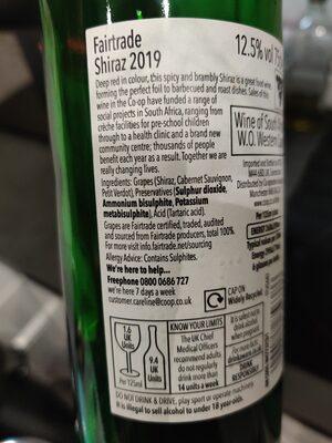 wine - Ingrediënten - en