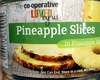 Pineapple slices in pineapple juice - Product