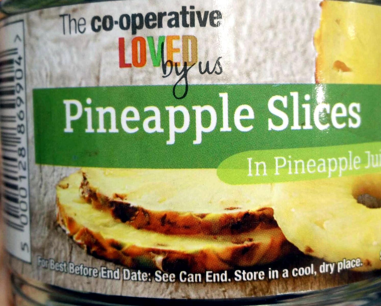 Pineapple slices in pineapple juice - Product - en