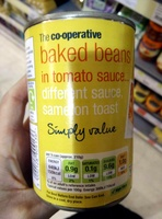 Baked beans in tomato sauce - Product